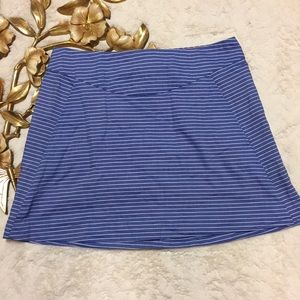 Anthropologie Corey Lynn Calter Strip Skirt Size 8