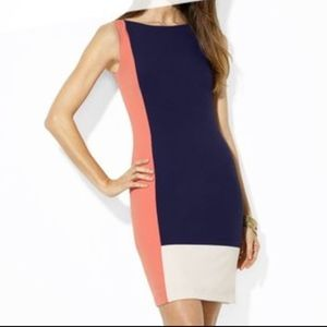 LAUREN Ralph Lauren Colorblock Dress