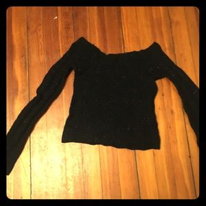 Express crop sweater