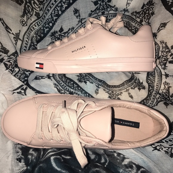 Pink Tommy Hilfiger Sneakers | Poshmark