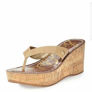 Sam Edelman Romy Wedge Thong Sandals