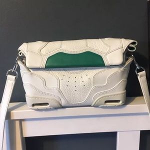 [Alexander Wang] cross-body bag white leather bag