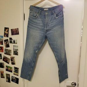 Zara premium denim collection jeans, size 6