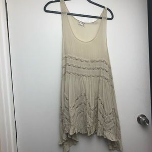 Free people Voile and Lace Trapeze Slip (large)