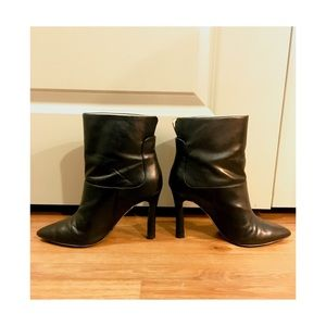 Nine West Soft Leather Ankle Boots