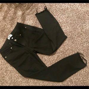 Paige Verdugo Ultra Skinny Jeans, Sz 27, Black