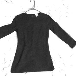 Tobi Small Black 3/4 sleeve mini dress NWT
