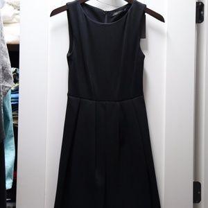 NWT Zara Black Midi Dress