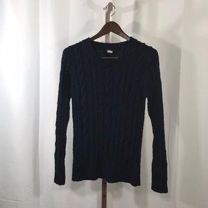 J.Crew Blue Crewneck Sweater