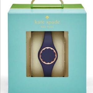 NIB Kate Spade Navy Scalloped Activity Tracker