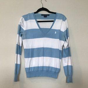 Striped Ralph Lauren Sport Sweater