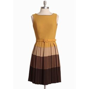 Anthro Barnaby Pleated skirt Eva Franco Sz 4 EUC