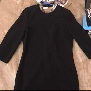 BEJEWELED H&M BLACK DRESS SIZE 8