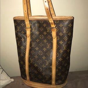 Louis Vuitton Large Bucket Bag