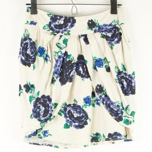 Urban Outfitters Kimchi Blue Floral Miniskirt