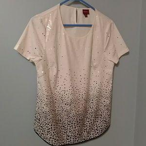 Merona sequin blouse