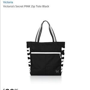 New Victoria's Secret PINK zip tote NWT