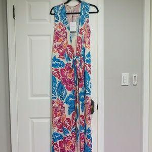 Diane von Furstenberg long wrap dress