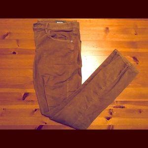 Bonobos Men's moleskin pants (34x34 Slim Fit)