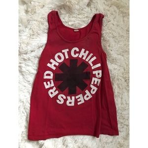 Tops - Red Hot Chili Peppers Tank