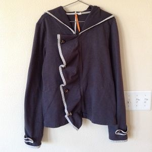 Anthropologie Saturday Sunday Off Kilter Hoodie