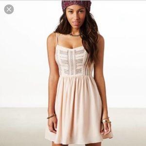 Blush Beaded Dress