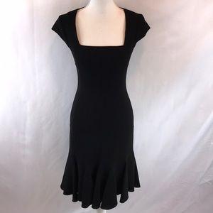 BCBGMAXAZRIA Black Farrah Dress Size 2 New