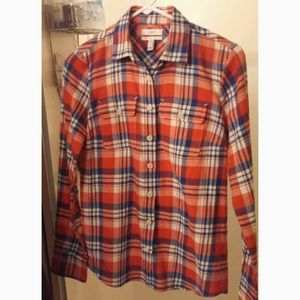 "Jcrew button down ""boy"" shirt. Size 6. Light wear"
