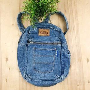 Vintage Kuky's original denim backpack