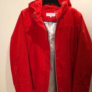 ☃️💦☔️Calvin Klein Rain  ☔️ jacket XL