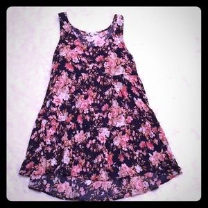 American Eagle Small Sleeveless Floral Dress