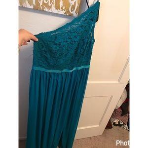Davids bridal bridesmaids dress in Oasis size 16
