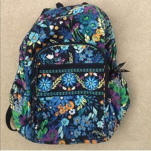 Vera Bradley Midnight Blues Backpack
