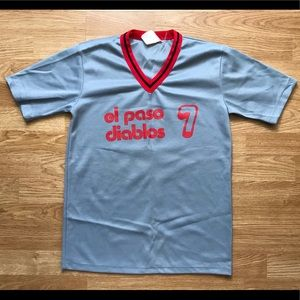Tops - Vintage Sports Uniform Top