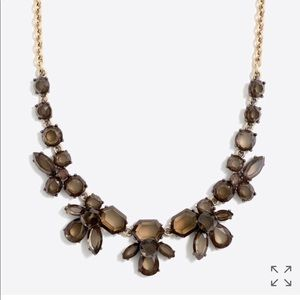 J. Crew Faceted Collage Statement Necklace