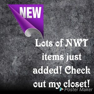 Accessories - NWT listings!