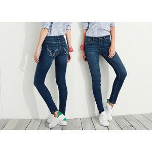 Hollister Denim Jeans Leggings Jeggings