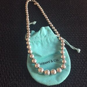 Tiffany Graduated Bead Necklace