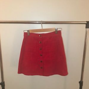 🆕❗️Urban Outfitters button up corduroy skirt