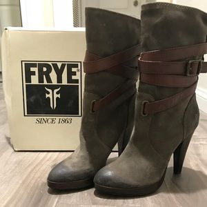 Frye Harlow ankle boot