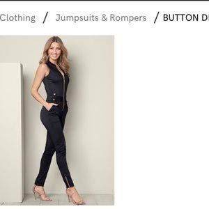 591473dd935 VENUS Dresses - Venus button detail jumpsuit