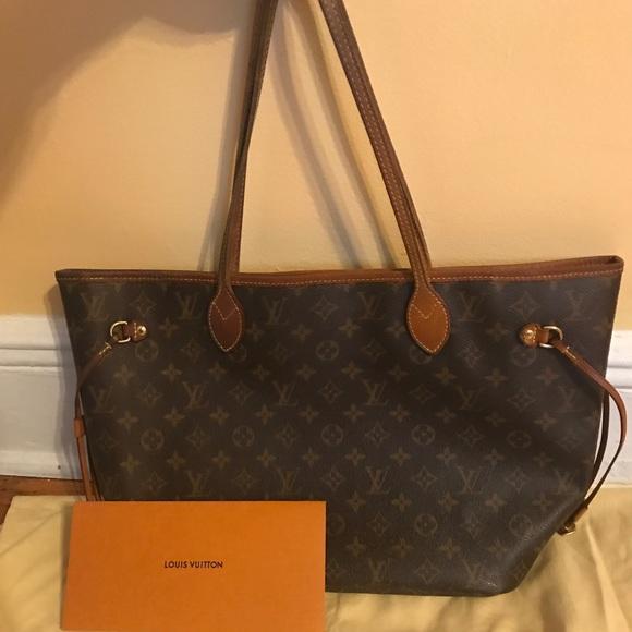 Louis Vuitton Handbags - Authentic Louis Vuitton Neverfull MM MONOGRAM 35c1170c86