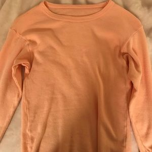 URBAN OUTFITTERS thermal long sleeve top