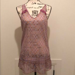 NWT pink flowered nighty size large