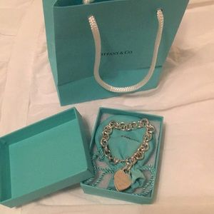 Tiffany's heart bracelet