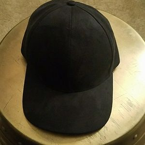 Accessories - Faux Suede Baseball Cap