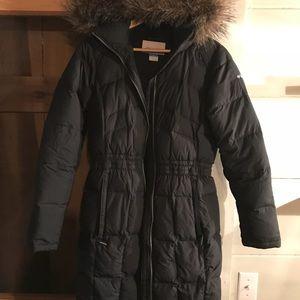 Women's Columbia winter down feather coat