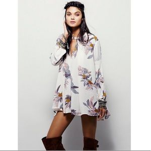 Free People Electric Orchid Blush Pink Dress