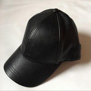 H&M Vegan Leather Hat