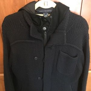 French Connection winter jacket, part wool